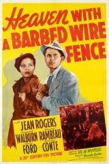 Heaven with a Barbed Wire Fence 1939 DVD - Jean Rogers / Raymond Walburn